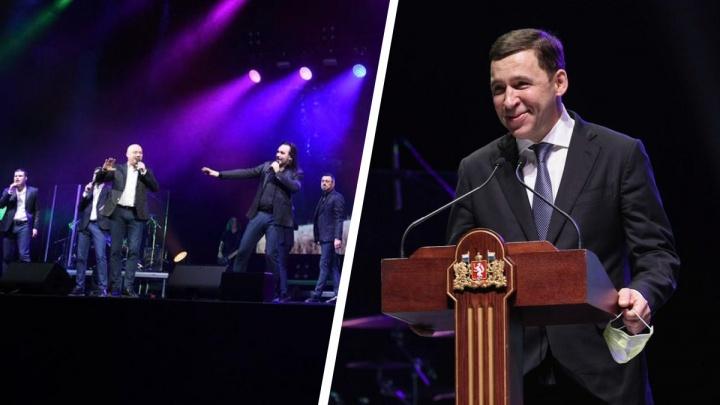 Губернатор собрал 2,5 тысячи медиков в «Екатеринбург-Экспо» и поздравил их с 8 Марта