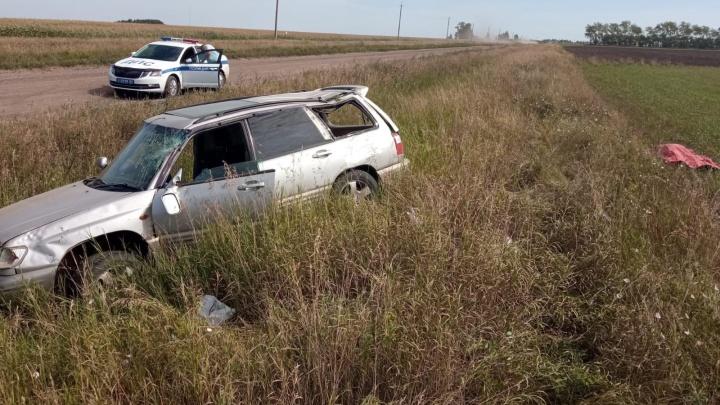 Женщина-водитель погибла в ДТП на Ордынской трассе — ее выбросило из машины