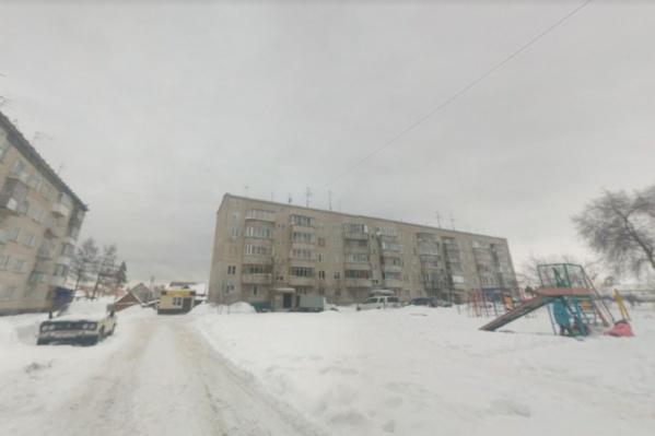 Семья жила в панельной пятиэтажке вКриводановке