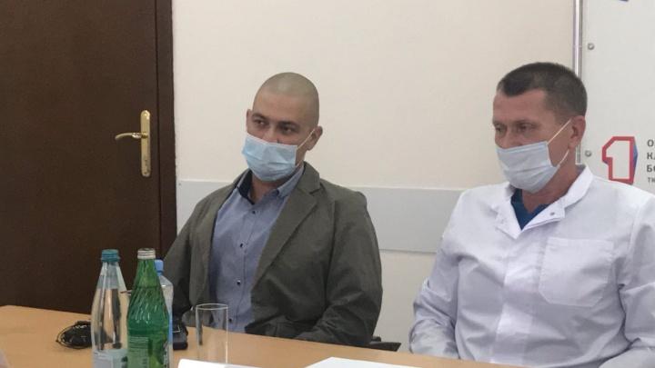 Тюменец, которому первому в регионе пересадили сердце, рассказал о самочувствии