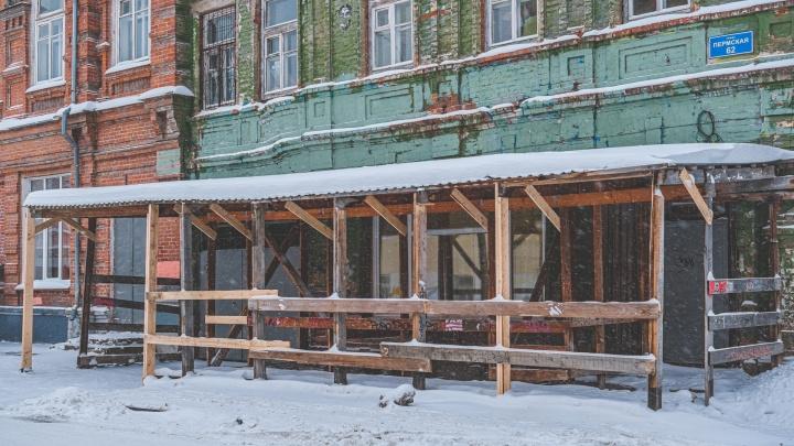 «Большинство с нарушениями»: в Перми после ЧП на Краснова проверили 86 строительных переходов