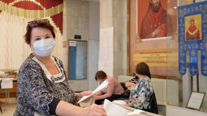 Краснодар голосующий: фоторепортаж с избирательных участков