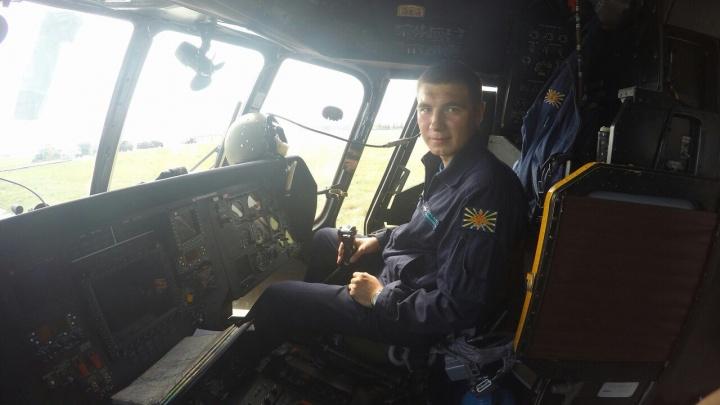 В Башкирии похоронили летчика, который разбился в Ленинградской области на вертолете Ми-8
