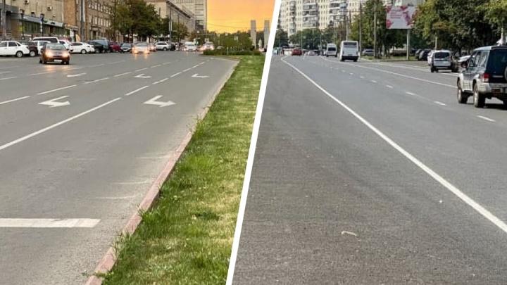 «Залили улицу асфальтом»: урбанист — о том, почему на Комсомольском не сделали разделительные газоны