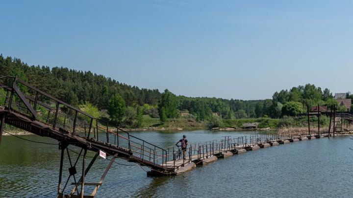 Бердские дачи: НГС изучил домики возле курортной зоны — они утопают в зелени, а рядом живописный мост и пляж