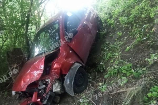 В аварии в Рыбинске пострадали взрослые и два ребенка