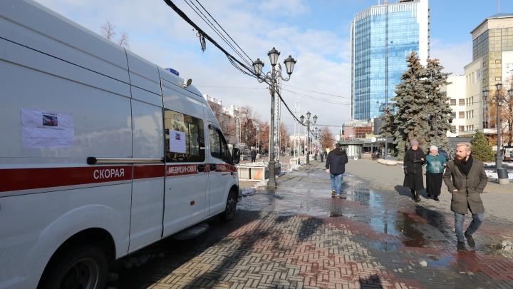 Бесплатное тестирование на коронавирус запустили на Кировке в Челябинске