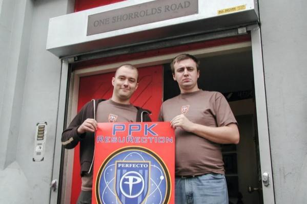 Сергей Пименов и Александр Поляков в Лондоне