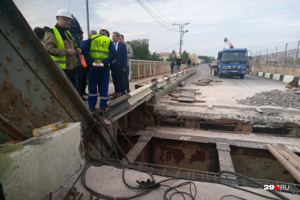 Ремонт на Северодвинском мосту: как все устроено