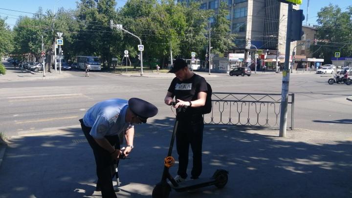 В Екатеринбурге придумали, как помирить пешеходов с самокатами. Ждем эксперимент