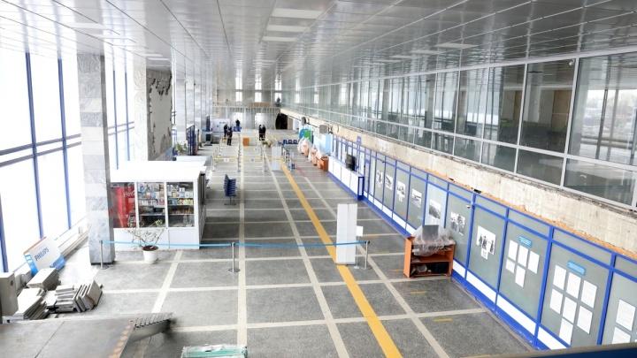 Полпред Якушев и губернатор Шумков осмотрели ремонт аэропорта Кургана