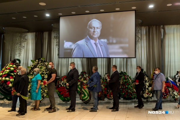 Проститься с Пимашковым пришли больше тысячи человек