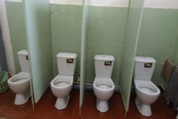 Так выглядит туалет для девочек в переславской школе