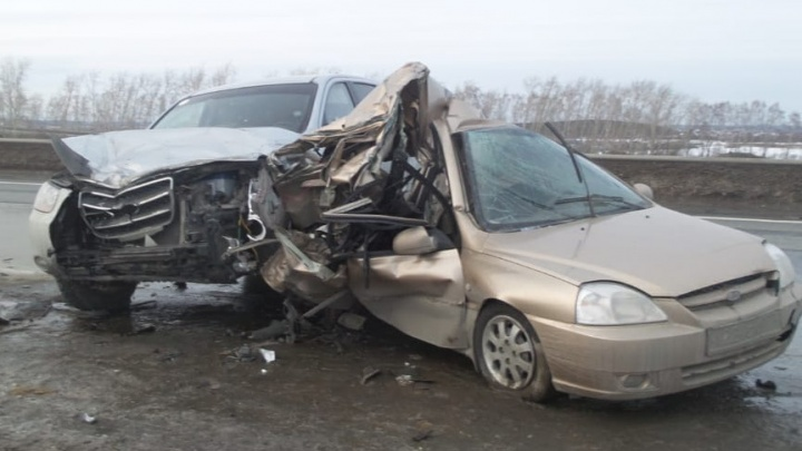 Водитель в шоковом состоянии: на Челябинском тракте произошло смертельное ДТП