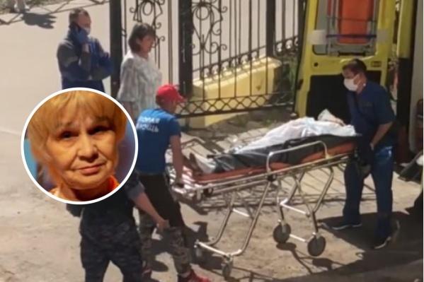 Учительницу доставят в Пермскую краевую больницу