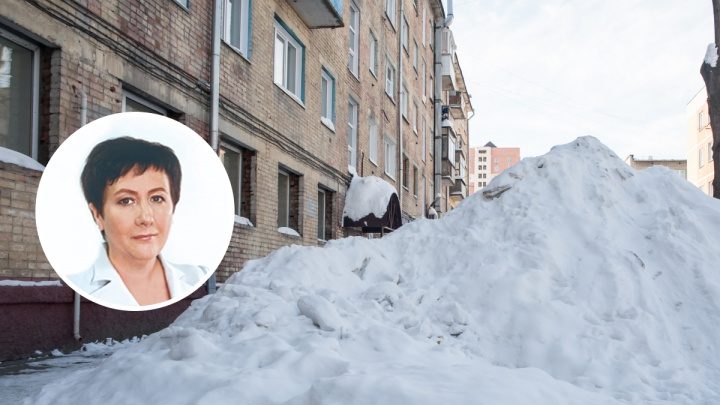 «Вы не мои избиратели». Новосибирский депутат отказалась почистить двор жителей своего округа