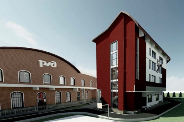 Так выглядитучебный центр СвЖД, который построят на базе детской железной дороги