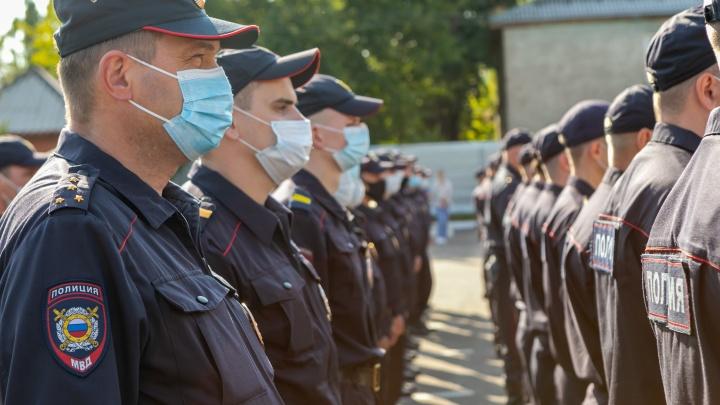 88 красноярских полицейских отправились сегодня в командировку на Кавказ