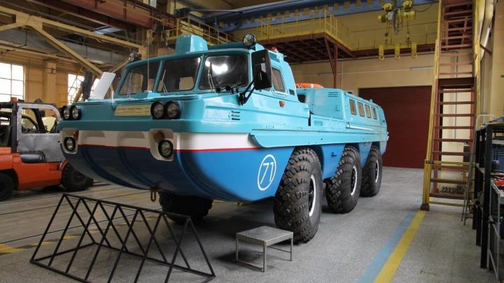В музейном комплексе УГМК выставят автомобиль-амфибию, на котором встречают космонавтов