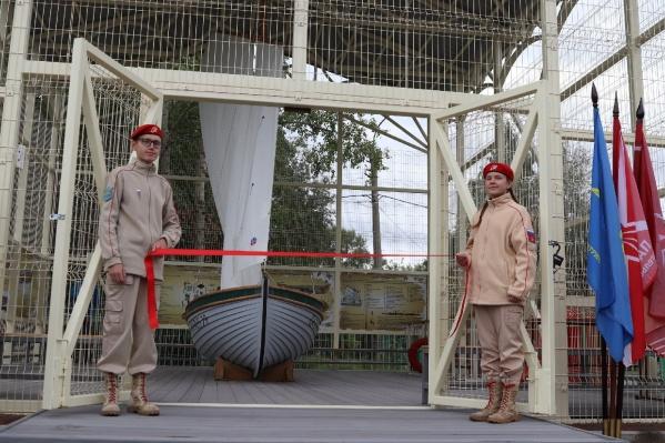 Место для обучения символично открыли в День ВМФ