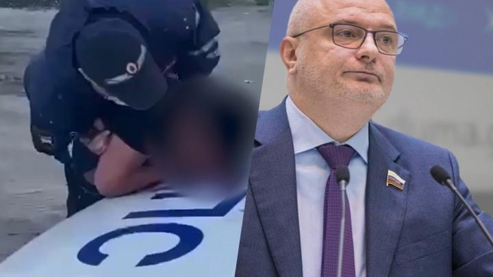 Сенатор от Красноярского края Клишас с журналистом RT оправдал убийство азербайджанца под Новосибирском