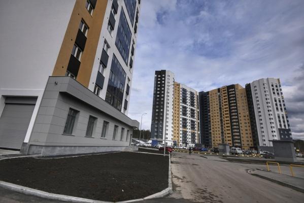 Новый дом, в котором дали квартиры обманутым дольщикам