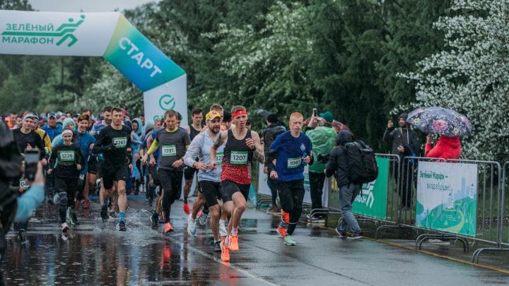 Зеленый Марафон Сбера собрал около 2000 гостей в Красноярске
