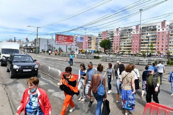Работы на проспекте Машиностроителей будут идти до 1 августа