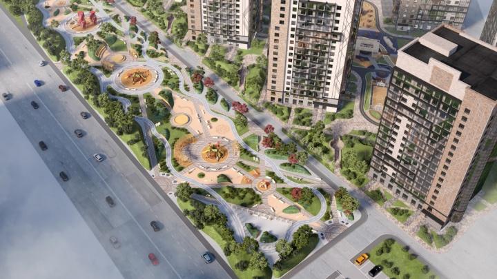 На улице Молокова к 2024 году разобьют новый сквер