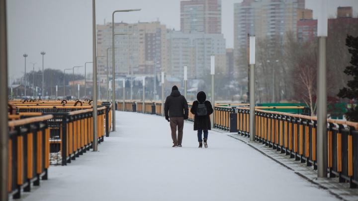Из плюса в минус — на Тюменскую область надвигаются морозы