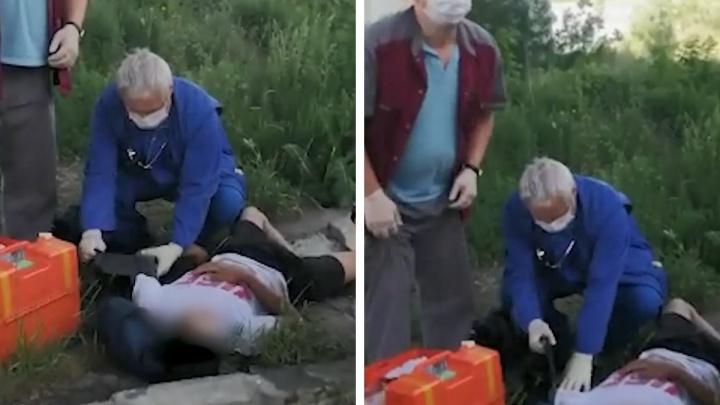 В Новосибирске умер мужчина, упавший на ребенка с Бугринского моста. Как себя чувствует мальчик?