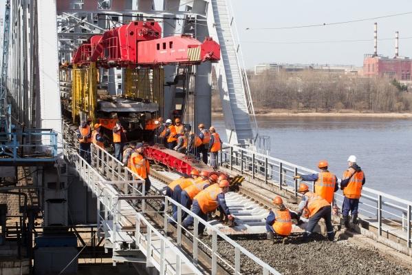 Железнодорожники заменят рельсошпальную решетку от станции Приволжье до станции Филино