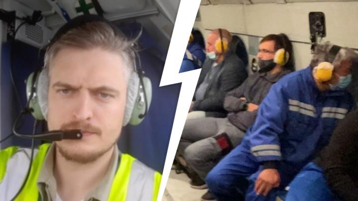 Уральского пилота, который был на борту рухнувшего самолета, перевезут санавиацией в Иркутск