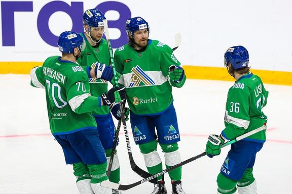 «Салават Юлаев» одержал непростую победу над череповецкой «Северсталью»