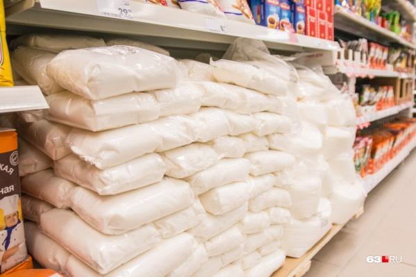 В целом сахар вырос в цене примерно на 40%