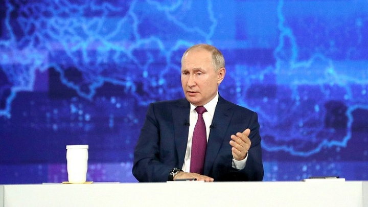 Путина спросили про преемника. Он ответил: «Свято место пусто не бывает»