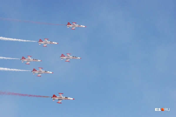 SHG Airshow проводится в Турции с 2015 года