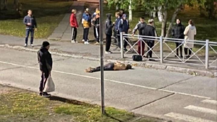 Как убегает убийца 17-летнего северодвинца: видео. Помогите найти его