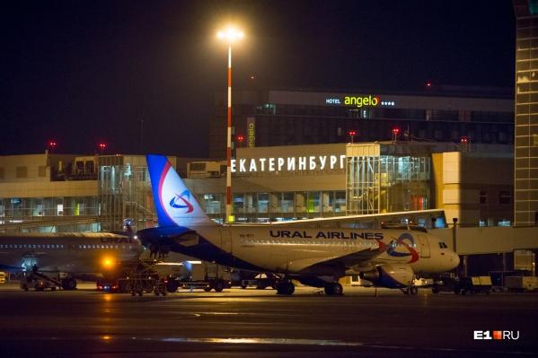 По данным сервиса FlightRadar, самолеты, летевшие в аэропорт Кольцово, поменяли направление и ушли на посадку в соседние города