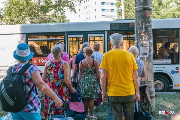 Тарифы на дачных автобусах не меняют с 2019 года