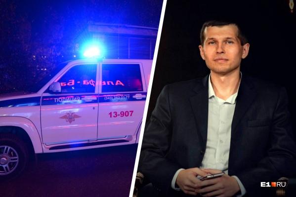 Силовики начали искать фальшивых полицейских, пытавшихся похитить журналиста