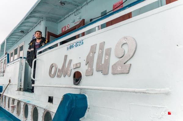 Один из самых популярных видов речного транспорта — Ом-142, самарцы ласково называют его «омик»