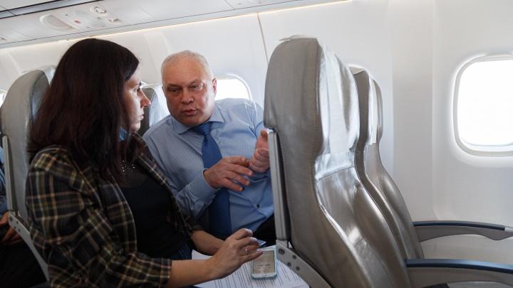 Интервью в полете: гендиректор «КрасАвиа» — о «подержанных иномарках» в авиапарке, новых рейсах и зарплатах пилотов