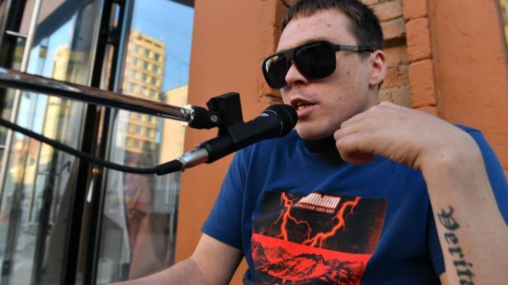 Рэпер из палаты смертников дает концерты в центре города