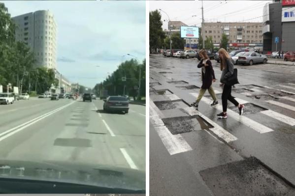 Дорожный ремонт закончили 1 июля