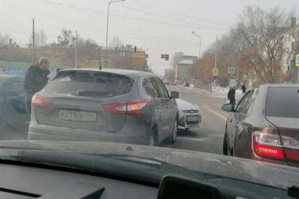 Авария произошла во второй половине дня в субботу, 27 февраля