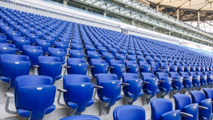 На матч «Ротор» — «Волгарь» на «Волгоград Арене» пустят 250 человек