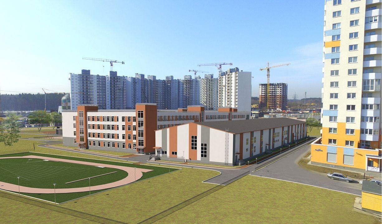 В Шушарах и Парголово начали строить новые школы. Каждая будет на 275 мест больше, чем планировали вначале0