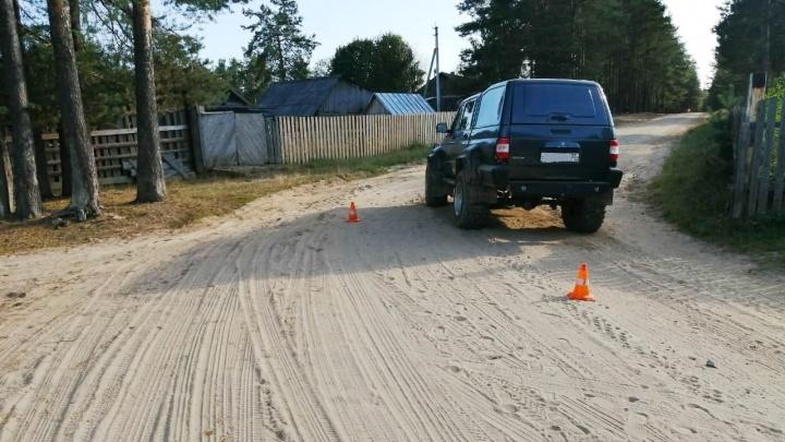 Ребенок в больнице: в Вологодской области внедорожник сбил 7-летнего мальчика из Ярославля