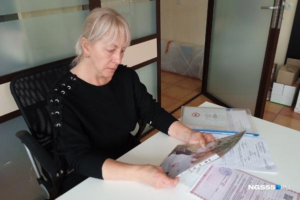 Татьяна трудится в трех местах и готова взять еще, чтобы поставить на ноги осиротевших внуков